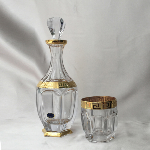 Bộ bình ly pha lê mạ vàng 99999-99R83-250AU