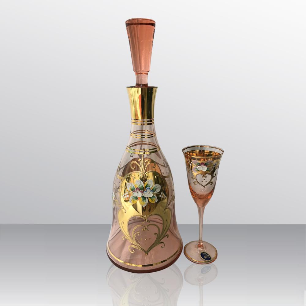 Bộ bình ly thủy tinh BBL-011