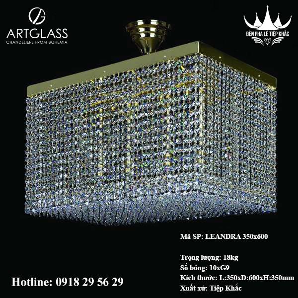 Đèn Trang Trí Hiện Đại LEANDRA 350x600