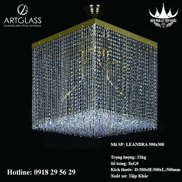 Đèn Trang Trí Hiện Đại LEANDRA 500x500