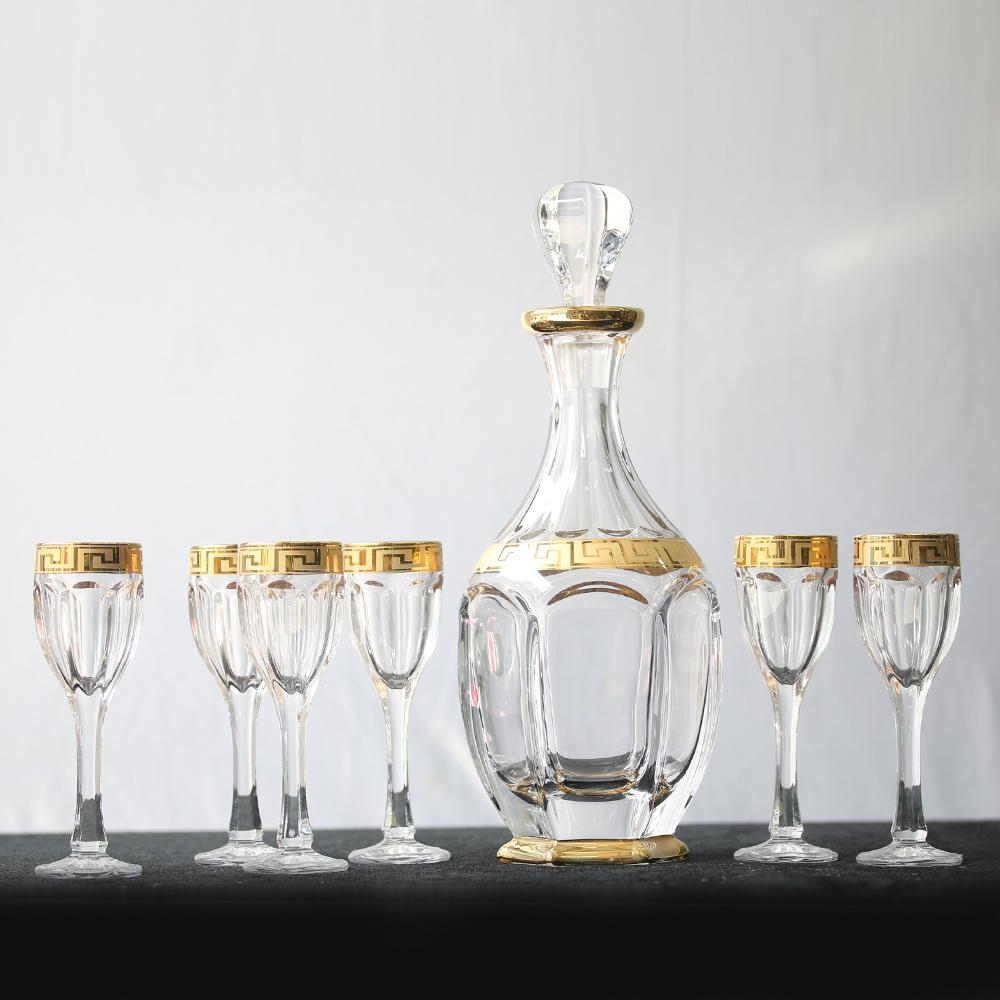 Bộ bình ly pha lê mạ vàng 99999-99R83-060-AU